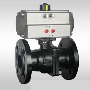 Cast Iron Ball Valve Lever Operated pictures & photos