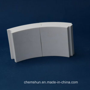 Al2O3 Alumina Ceramic Tubes / Bend Pipe / Alumina Tube From Chinese Manufacturer pictures & photos