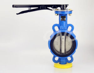 Carbon Steel Butterfly Valve with Flange pictures & photos
