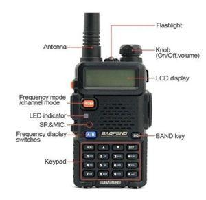 Dual Band Baofeng UV-5r Cheap Transceiver Ham Radio pictures & photos