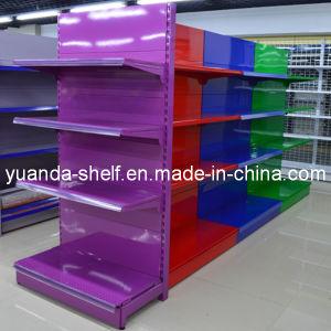 Colorful Supermarket Goods Display Storage Metal Retail Shelf pictures & photos