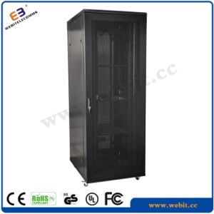 Network Cabinet with Front Hexagonal Perforated Door pictures & photos