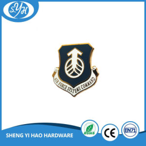Customized Metal Gold Plating Hard Enamel Lapel Pin pictures & photos