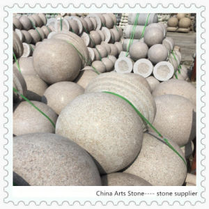 Granite and Marble Balls for Column and Car Park Stone pictures & photos