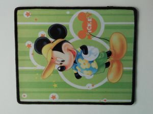 Edge-Lock Mouse Pad with Rubber and Fabric pictures & photos