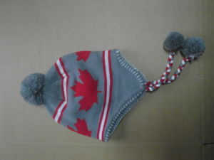 Children′s Knitted Caps Hats Kids Hats Clothing Fashion Acrylic Apparel pictures & photos