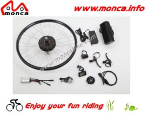500W 48V Rear Electric Bike Kit with White Color LED Front Light pictures & photos