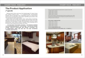 Kefeng-217 Cut-to-Size Kitchen Countertop Quartz Stone