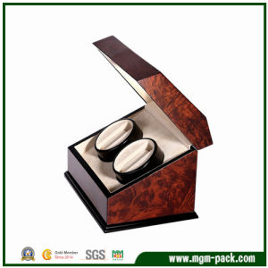 Wholesale High Glossy Automatic Wood Watch Winder pictures & photos