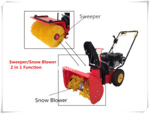 Snow Blower/ Sweeper Interchangeable Machine