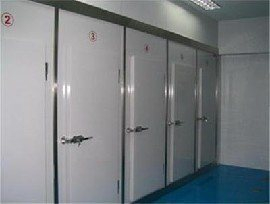 PU Sandwich Insulated Swing Door pictures & photos