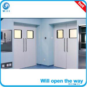 Automatic Swing Hermetic Hospital Door pictures & photos