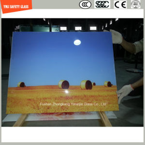 4-19mm Digital Painting Tempered Glass for Mural pictures & photos