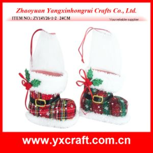 Christmas Decoration (ZY14Y26-1-2) Xmas Boots Children Toys Promotional Products pictures & photos