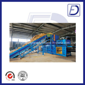 Higy Capacity Semi-Automatic Straw Channel Baler pictures & photos