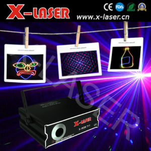 2W RGB Full Color Animation Laser Light with SD+2D+Grating Pattern pictures & photos