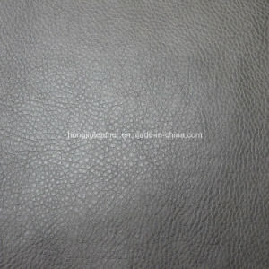 Embossed Pattern and Synthetic PU Leather for Sofa pictures & photos