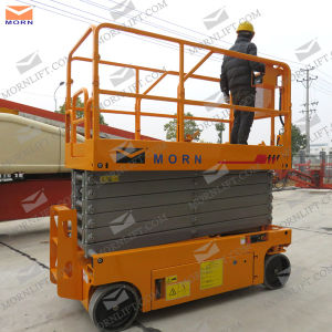 10m Self Propelled Battery Powered Scissor Lift Platform for Sale pictures & photos
