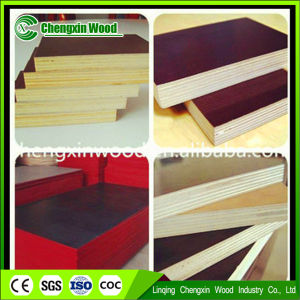 Good Quality 18mm Construction Plywood / Film Faced Plywood with Competitive pictures & photos