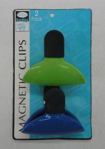 2PCS Plastic Magnetic Spring Clip pictures & photos