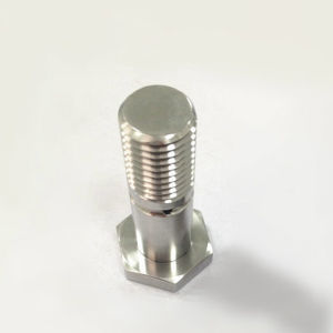 Shaft Axel CNC Turned Turning Machining Parts Hexagonal Screw pictures & photos