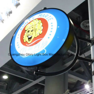 Revolving Illuminated Light Box Sign Board pictures & photos