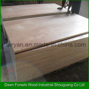 Keruing Wood Veneer Faced Commercial Plywood pictures & photos