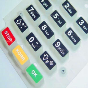 Customize Plastic Rubber Silicone Laser Cut Keypad pictures & photos