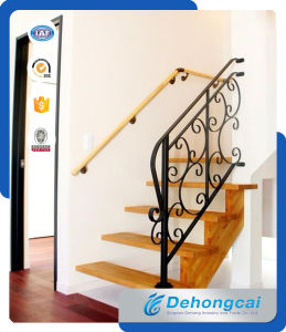 Indoor Beautiful Steel Stairway Railing pictures & photos