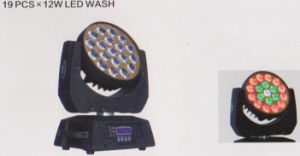 12W*19 LED Moving Head Wash, Zoom LED Moving PAR Light pictures & photos