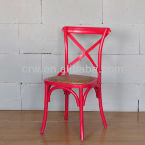 Rch-4001-7 Hot Sale Red X Back Chair pictures & photos