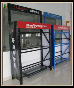 Warehouse Tyre Storage Rack Shelving Shelf Mjy-Ws16 pictures & photos