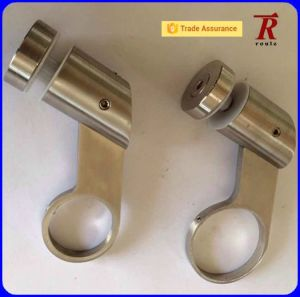 Stainless Steel Slot Tube Handrail Bracket for Stair