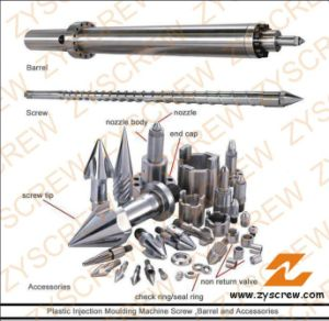 Screw Barrel Injection Molding Screw Cylinder pictures & photos
