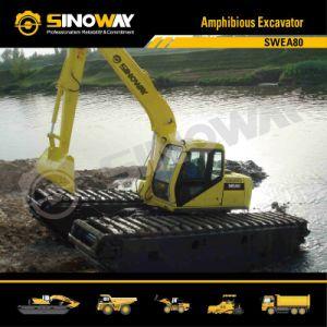 Sinoway Floating Excavator, Dredging Excavator, Swamp Excavator pictures & photos