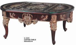 C-1670 Black Antique Coffee Table Set