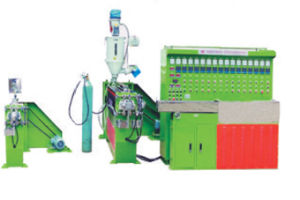 Physical Foaming Coax Cable Extrusion Production Line pictures & photos
