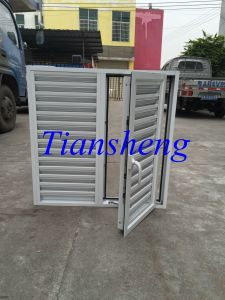 Fixed Louvered Casement Window, Aluminum Shutter Window pictures & photos