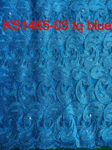 2015 Latest Design African Water Soluble Laceafrican Cord Lace/Guipure Lace Fabric for Women Dress pictures & photos