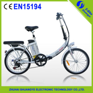 New Fashionable Design 20 Inch Folding E-Bicycle pictures & photos