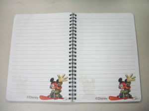 Good Quality 3D Jotter in Spiral Notebook pictures & photos