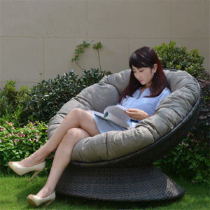 Leisure Single Sofa Rattan Sofa Outdoor Leisure Garden Sofa (S101) pictures & photos