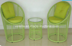 Garden Patio Wicker Outdoor Bistro Set pictures & photos