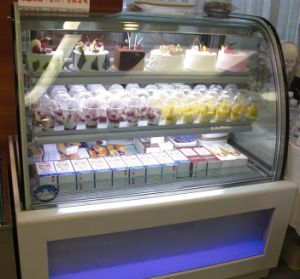 Acrylic Light Box Cake Refrigerator (JC)