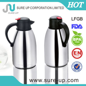 Double Wall Stainless Steel Coffee Pot /Water Jug for Drinkware (JSUN) pictures & photos