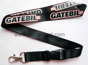 25mm Nylon Lanyards with Logo Screen Printed