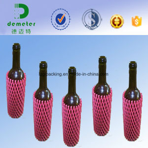Accept Custom Order Liquid Glass Wine Bottle Packaging EPE Foam Sleeve Net pictures & photos