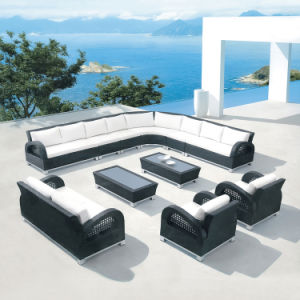 L Shape Outdoor Leisure Sofa Garden Furniture Rattan / Wicker Sofa S253 pictures & photos