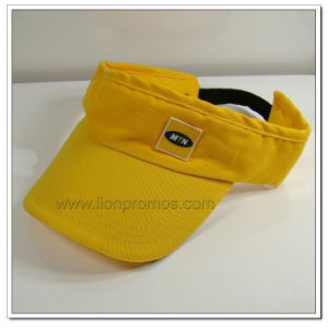 Telecom Mtn Logo Embroidery Promotional Gift Summer Outdoor Sports Sun Visor Cap pictures & photos