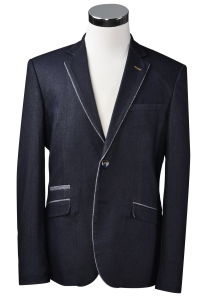 Dark Grey Color Men Blazer